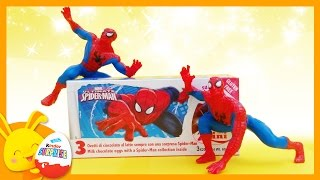 Spiderman - Œufs surprises -  Unboxing surprise eggs -Titounis