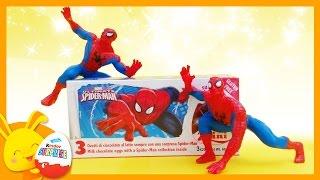 Spiderman - Œufs surprises -  Unboxing surprise eggs -Titounis