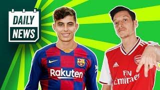 Barcelona want Havertz + Ozil to leave Arsenal? ► Daily News