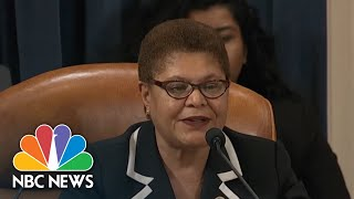 Bass: 'This Is Not A Coup' | NBC News Video