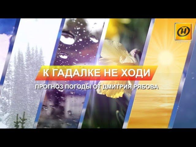 Прогноз погоды от Дмитрия Рябова