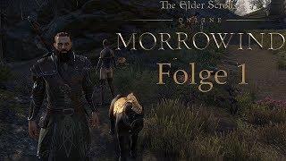 The Elder Scrolls Online Morrowind Gameplay German #1 Das Abenteuer Beginnt Let's Play Deutsch
