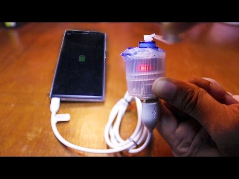 USB POCKET POWER GENERATOR - Emergency Free Mobile Charger