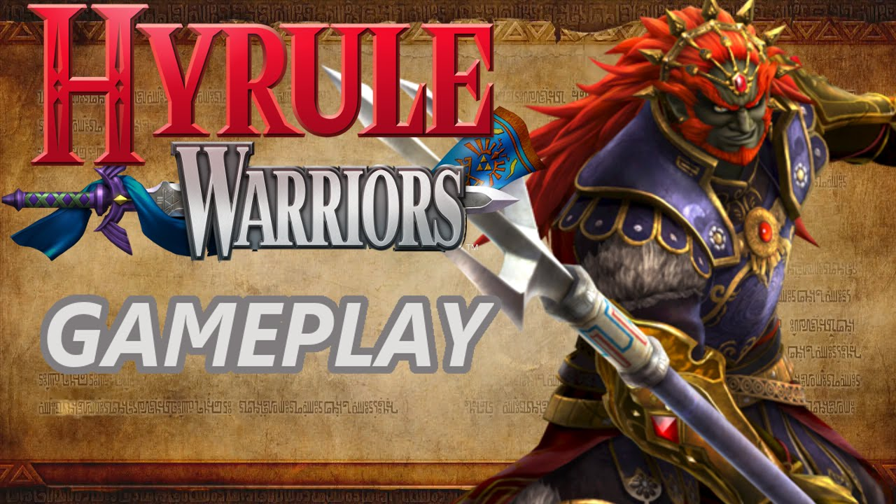 Hyrule Warriors Gameplay With Ganondorf Trident Weapon
