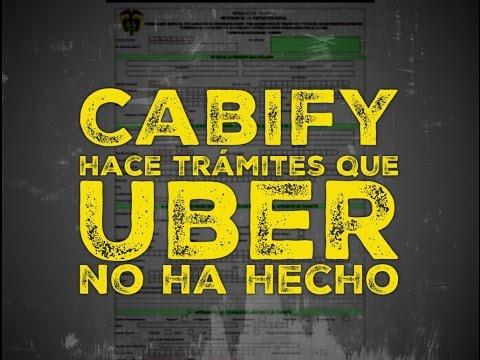 Cabify hace lo que Uber no acepta: la ley actual