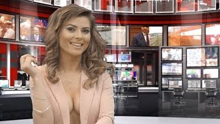 Repeat youtube video TV Newsreader Gives Us The Naked Truth