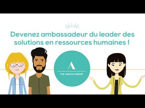Devenez ambassadeur d'un groupe international !