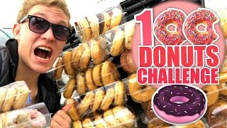 100 DONUTS CHALLENGE!
