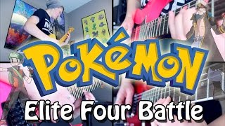 Download Elite Four Battle - Pokémon RSE/ORAS (Rock/Metal) Guitar Cover MP3 song and Music Video