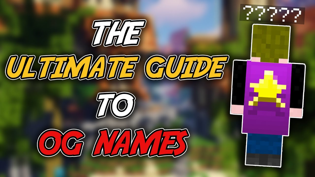 Roblox 3 Letter Names Not Taken 2020 Og Names And Invalid Names Hypixel Minecraft Server And Maps