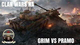 Clan Wars North America Server Grim Vs Pramo World of Tanks Blitz