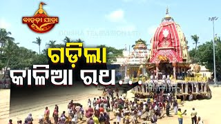 Bahuda Yatra 2020-Lord Jagannath's Nandighosa Rolls On Grand Road Towards Srimandir