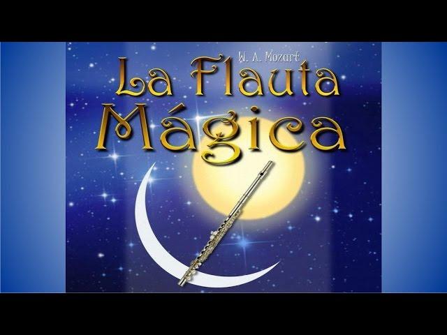 Resultado de imagen de la flauta mágica para niños
