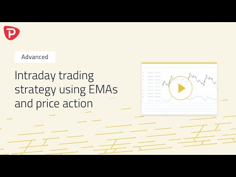 Advanced Intraday trading strategy using EMAs and price action