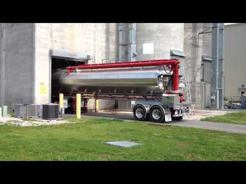 Hensley Feed Trailer built for Case Farms Chicken