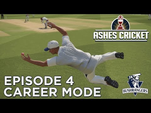 ASHES CRICKET | CAREER MODE #4 | CLEARING THE FENCE!