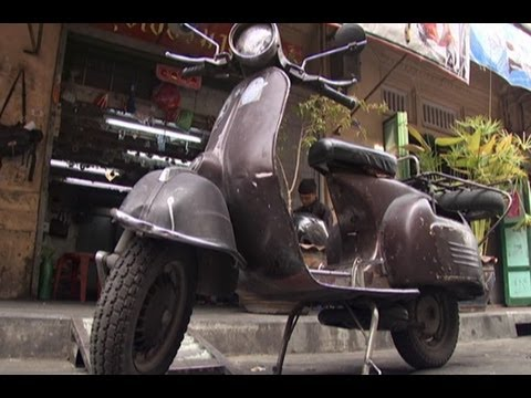 In Bangkok Vespas combine substance and style
