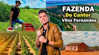 Ele  Antes Trabalhava Na Roça, Cantor Vitor Fernandes - Rei do Piseiro