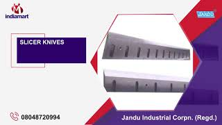 Industrial Cutting Machines & Knives Exporter