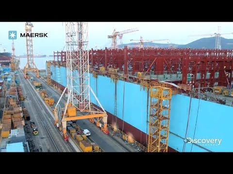 Maersk Line - Building the Triple-E Timelapse