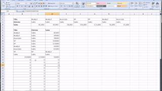 Excel Trick - Transpose Table