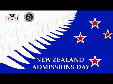 New Zealand Admissions Day August '19 By Edwise International