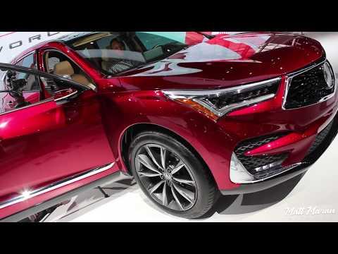 2019 Acura RDX Prototype Close-Up Look! 2018 NAIAS
