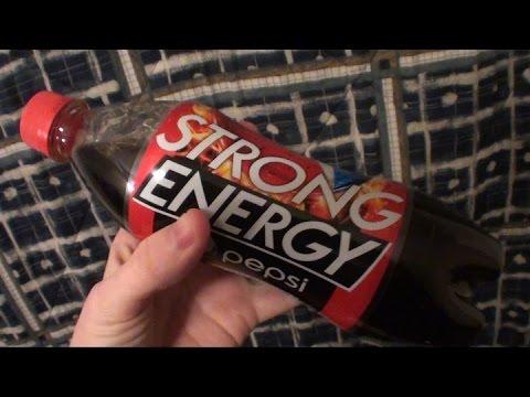 Brad Tries Pepsi Strong Energy