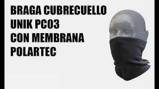 Braga cubrecuello para moto UNIK PC03 con membrana Polartec