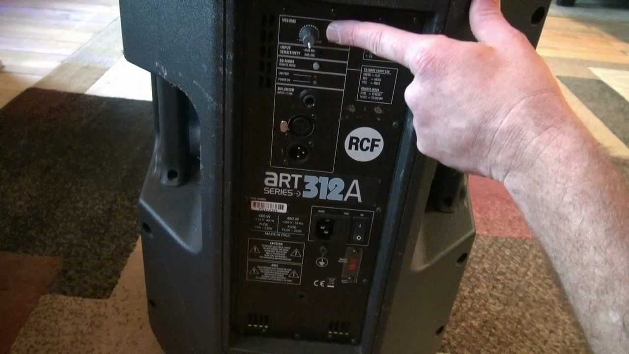 Brian Looks At The RCF ART 312A Powered Speakers