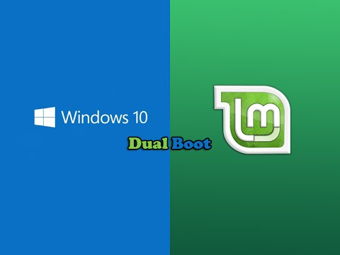 dual boot windows 10 and linux
