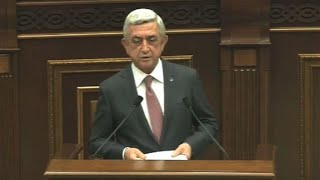 Armenia ex-leader elected PM despite protests