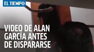 Video de Alan García antes de dispararse | EL TIEMPO