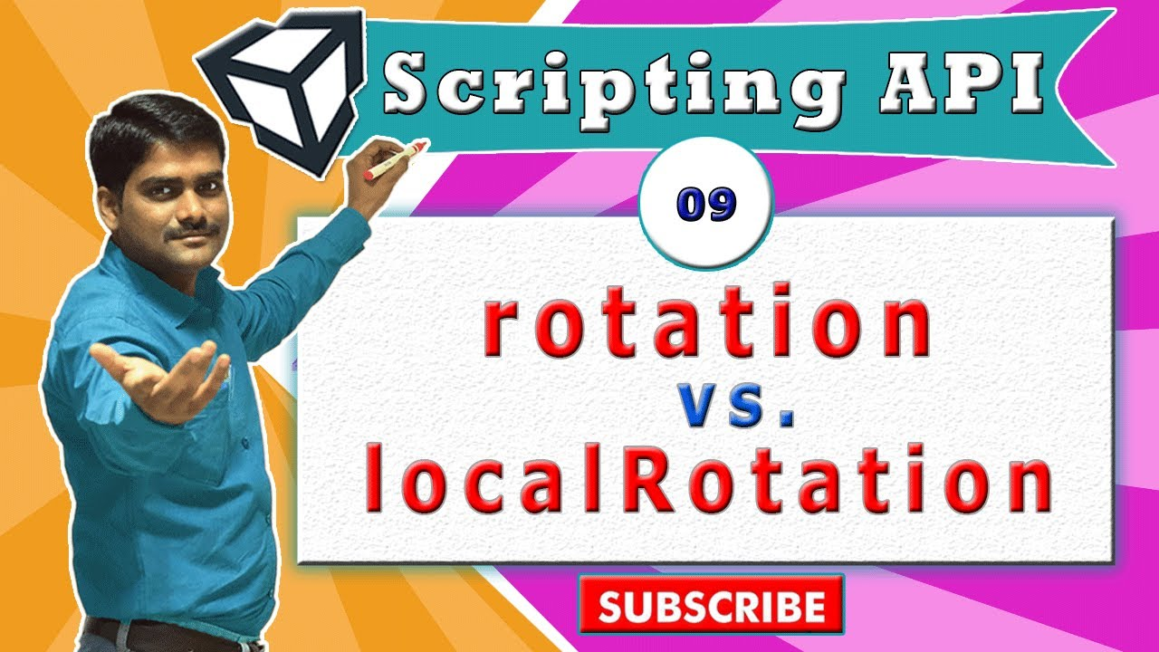 Unity Transform Essentials - 09 - rotation vs localRotation