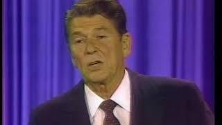 Ronald Reagan and John Anderson Debate on September 21, 1980