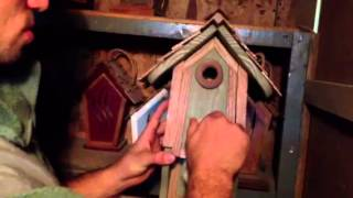 Handmade Birdhouse's For Sale
