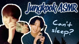 [ASMR] Jungkook Trying to Give You Tingles | Tapping Sounds & Whispering