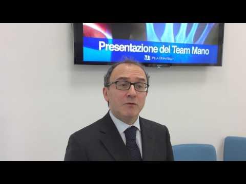 """CURA MANO E POLSO - Alberto Rimoldi Direttore Generale di Villa Donatello su """"Team Mano"""" - Agipress"""