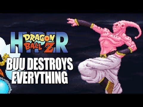 BUU DESTROYS EVERYTHING - Hyper DragonBall Z