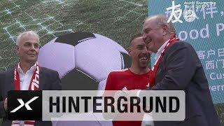 Spiel und Spaß mit Franck Ribery und Uli Hoeneß in Shanghai | FC Bayern München