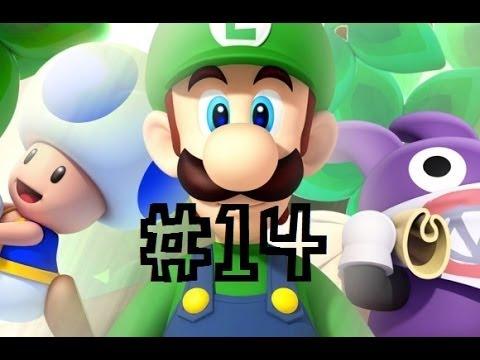-FALKO & -DIX games - New Super Luigi U Walkthrough - Episodio 14: Ghiacciaio Candito [2/2] (sei uno stronzolo!)