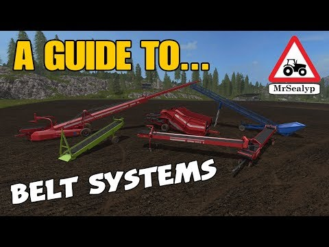 A Guide to... Belt Systems (Conveyor Belts revisited!). Farming Simulator 17 PS4. Review. thumbnail
