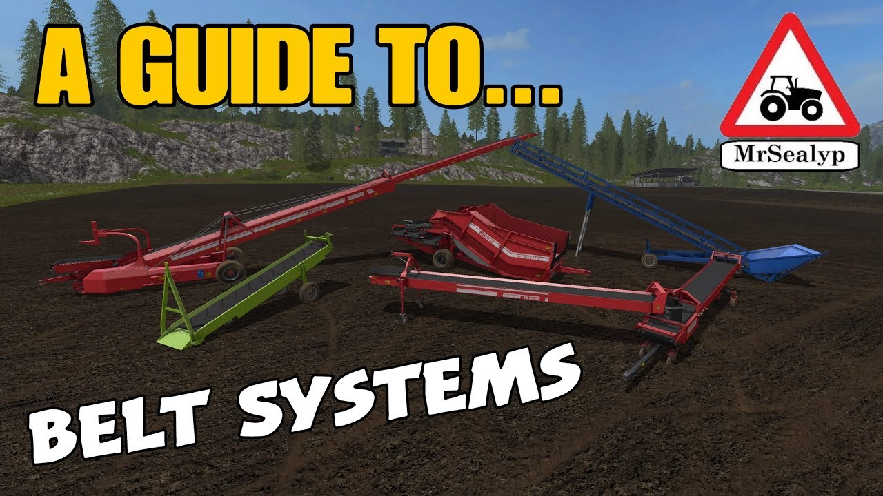 A Guide to    Belt Systems (Conveyor Belts revisited!)  Farming Simulator  17 PS4  Review