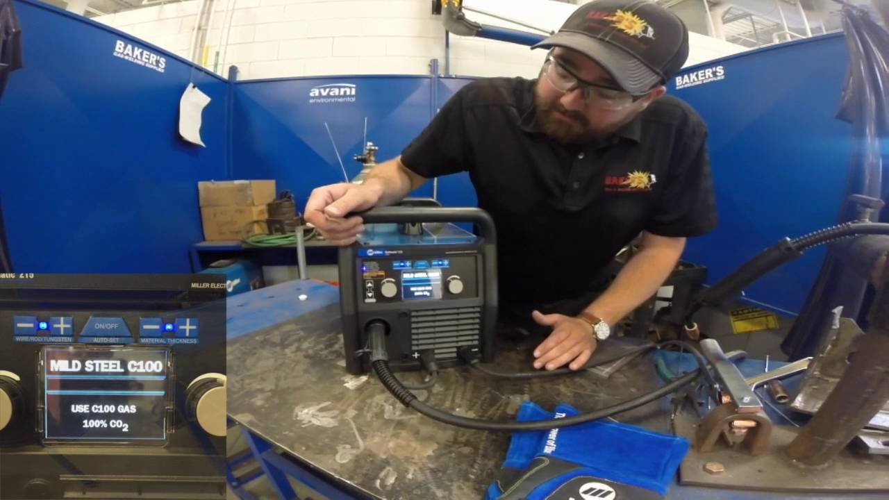 Miller Multimatic 215 >> Miller Electric Multimatic 215 Preview 907693 Youtube