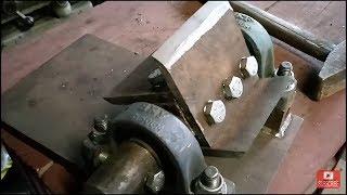 Tocator crengi | Wood chipper mechanism