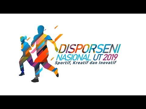 Disporseni Nasional UT 2019 - Sportif, Kreatif Dan Inovatif