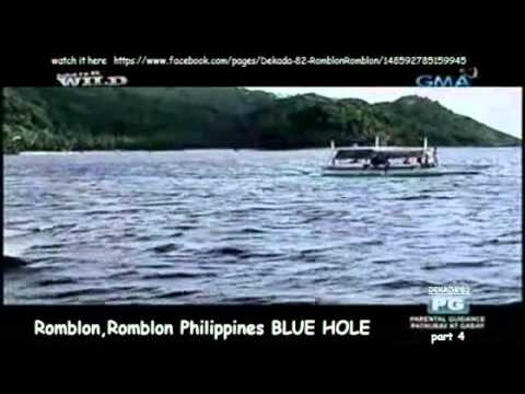 Romblon,Romblon Philippines BLUE HOLE part 4