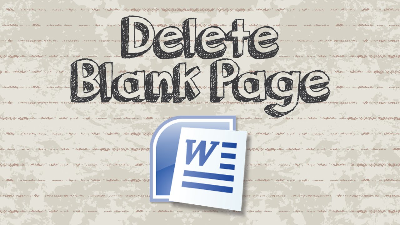 How To Delete A Blank Page In Word With Easy