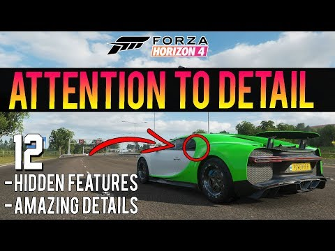Forza Horizon 4 - 12 Things You Didn't Know! - Hidden Features & Details thumbnail