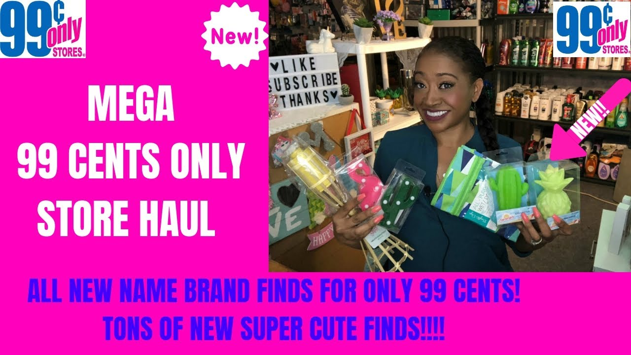 d6abcf8cff6 MEGA 99 CENTS ONLY STORE HAUL~ALL NEW FINDS~AMAZING NAME BRAND ITEMS ...